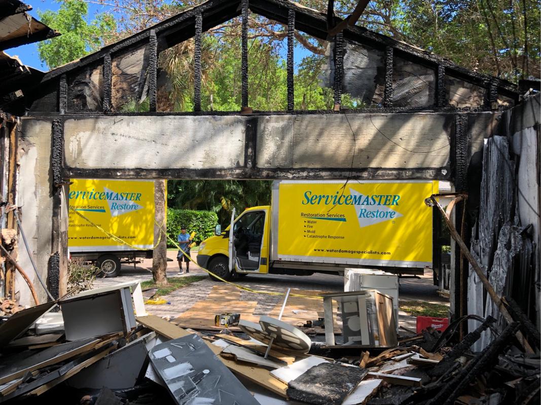 case study fire damage vero beach